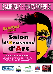 Salon d'artisanat d'art à Sampigny