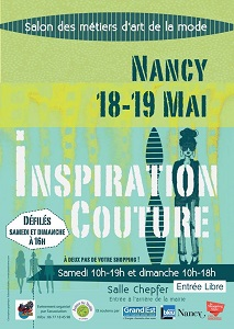 Inspiration couture Nancy