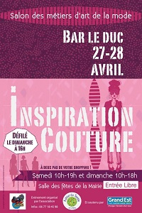 Inspiration Couture à Bar-le-Duc